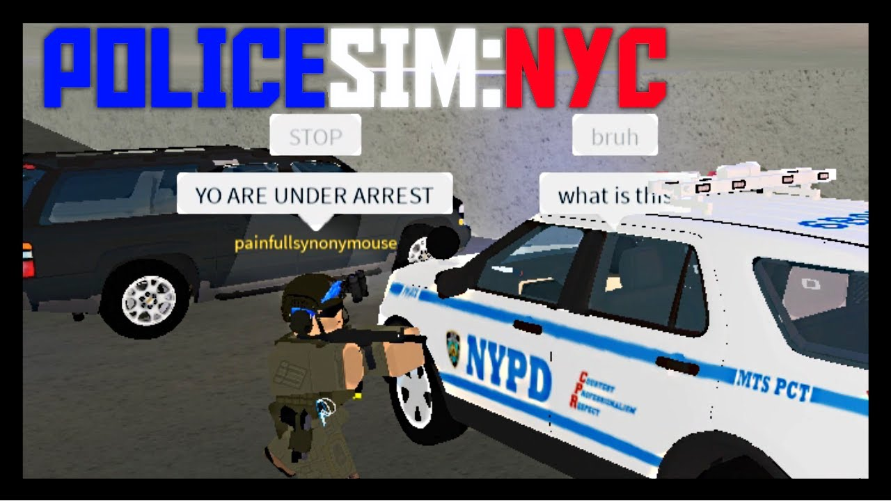 Roblox Policesim Nyc Getting Arrested By The Fbi Policesim Nyc Youtube