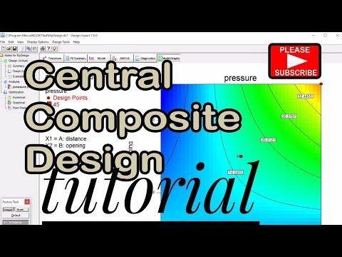 Central Composite Design Tutorial   Review On Design Expert Software
