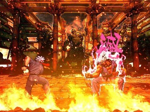 [KOF Mugen] The Battle Of SVC Bosses : Mr. Karate Vs Shin Gouki (미스터 가라데 Vs 신 고우키)