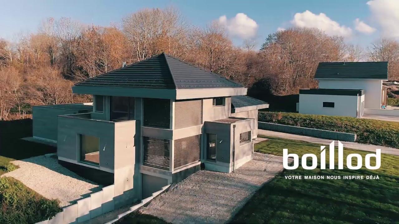 Maison Ossature Bois Vosges boillod construction bois - clip publicitaire
