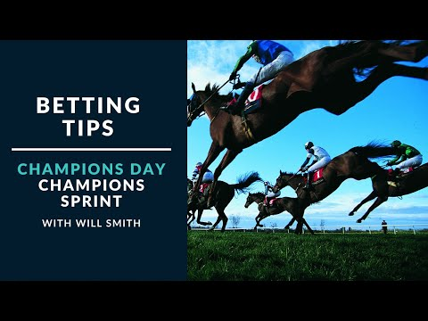 Betting Tips - Champions Day - Champions Sprint