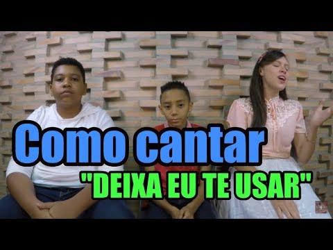 Como cantar DEIXA EU TE USAR - Sarah Farias - VOCATO KIDS 176
