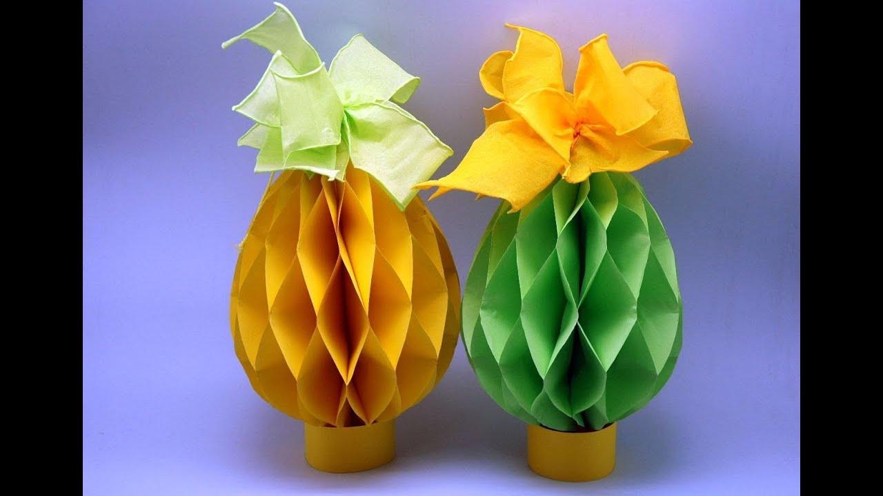 Pisanka Z Papieru Paper Easter Eggs Diy Youtube