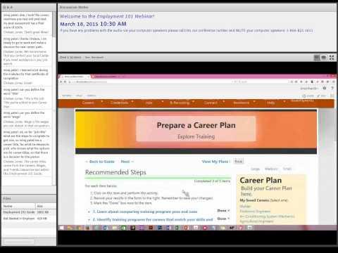 Employment 101 (3/18/2015)