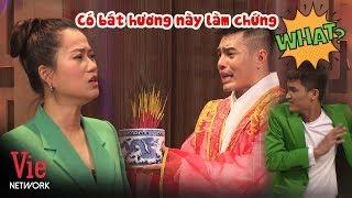 Mạc Văn Khoa giật bắn người với màn cầu hôn TÂM LINH của Lê Dương Bảo Lâm | Kỳ Tài Thách Đấu