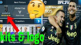 How to make Juventus new Kits & Logo 2018/19 | Dream League Soccer 2018