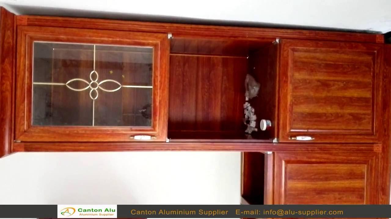 Aluminum Cabinet Aluminum Profile For Kitchen Cabinet Supplier