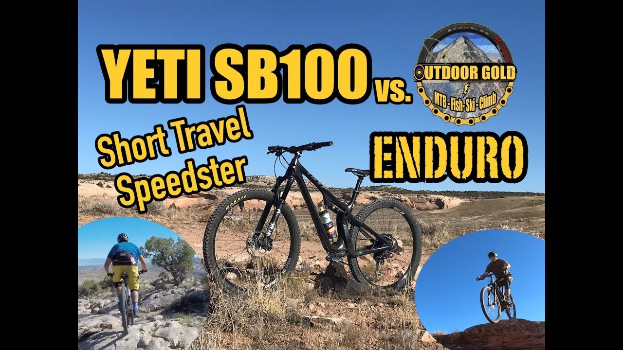 CAN IT SHRED??? Yeti SB100 vs  Outdoor Gold Enduro // Test