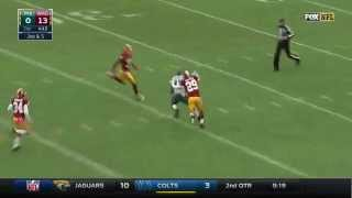 Nelson Agholor Makes an Impressive One-Handed Grab | Eagles vs. Redskins | NFL