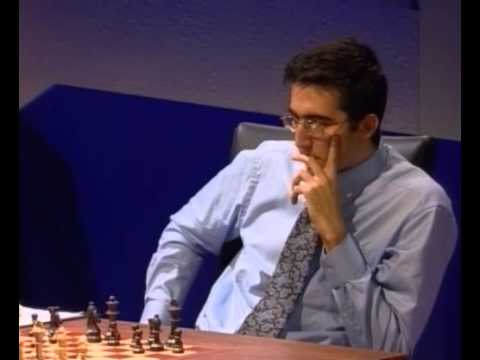 Kasparov Kramnik Match 5-1 World Chess Championship 2000 (live)