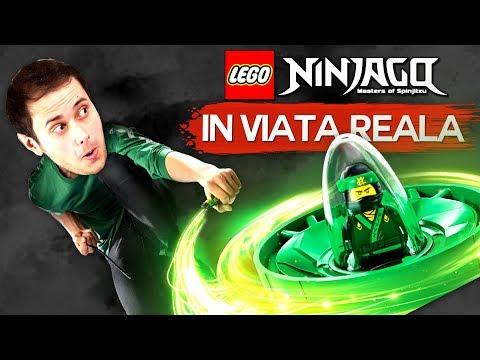 LEGO Ninjago in VIATA REALA !!!