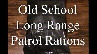 Green Bag Long Range Patrol Food Packet