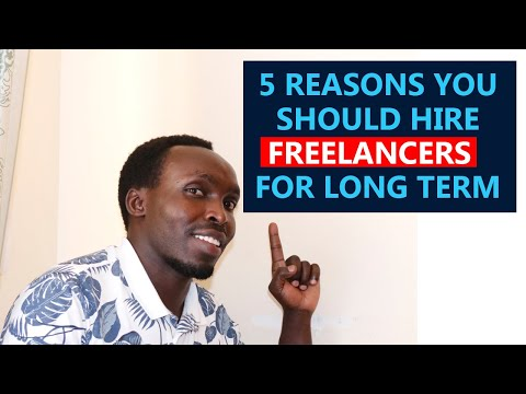 5 Reasons You Should Hire Freelancers For Long Term😊😃😄😁