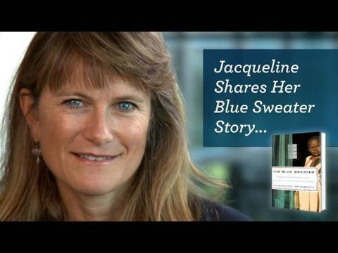 Jacqueline Shares Her Blue Sweater Story - YouTube