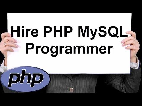 Hire PHP MySQL Programmer 888-411-2221 - PHP  Programming Services