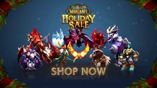 Save Big on Pets, Mounts, Helms, and More During Our Holiday Sale