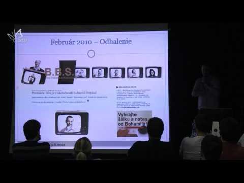 BarCamp Žilina #5: Bohumil Stejskal, Aneb Životsonlineidentitou