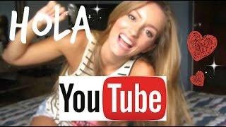BIENVENIDOS A MI CANAL! ♥ | Por qué YouTube? - Katie Angel