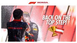 WINNING IN AUSTRIA WITH RED BULL | Powered By Honda | Honda Racing F1