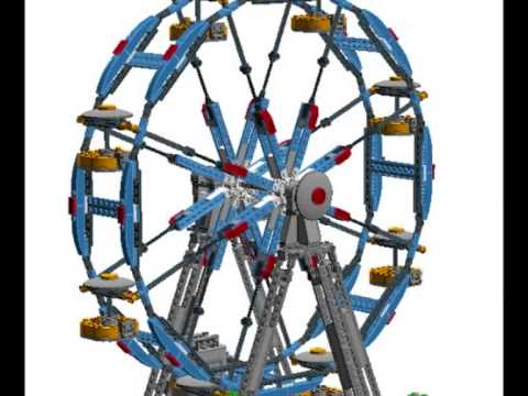 lego creator la grande roue jouet pour les enfants youtube. Black Bedroom Furniture Sets. Home Design Ideas