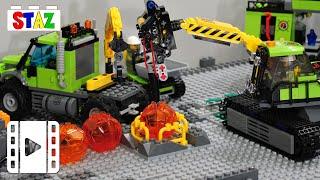 LEGO City Volcano crystals expedition - Mini movie
