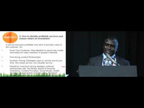 How to optimise on VAS market opportunities in Africa and increase profitability Daniel Cobblah