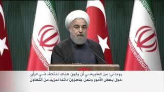تأكيد تركي إيراني على أهمية العمل المشترك