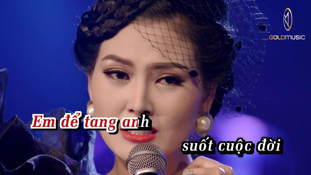 KARAOKE | Nếu Chúng Mình Cách Trở – Randy ft. Hoa Hậu Kim Thoa