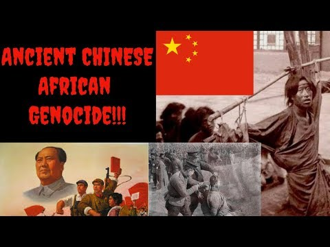 Ancient GENOCIDE Of Chinese Africans In China