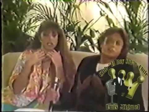 Luis Miguel y Lucerito hablan de la pelicula