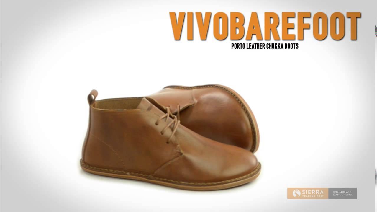 Vivobarefoot Porto Leather Chukka Boots