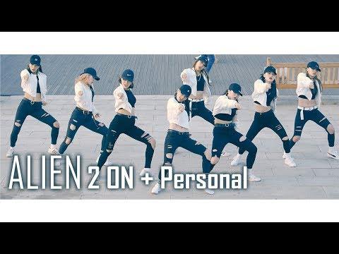 ALiEN Dance Studio 에일리언 댄스 스튜디오 첫 버스킹 | 2 ON + Personal [1440p] Fancam by lEtudel