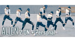 ALiEN Dance Studio 에일리언 댄스 스튜디오 첫 버스킹 | 2 ON + Personal [1440p] Fancam by lEtudel