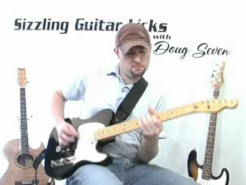 sizzling guitar licks doug sevens