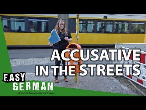 Tiếng Đức bài 13: Bạn thấy gì trên đường? (luyện tập Accusative)