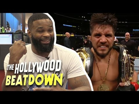 Tyron Woodley to Henry Cejudo: 'Sit down somewhere, you're annoying everybody'