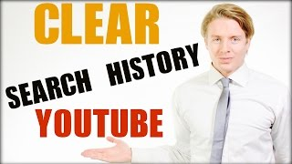How To Clear Search History On Youtube 2016