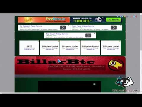 #How_To : Earn Bitcoin From BillardBTC Faucet