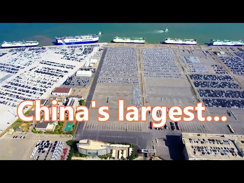 Guangzhou is building China's largest automobile logistics h