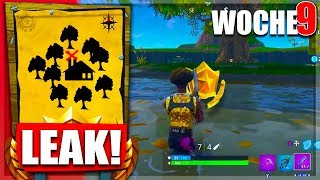 [NEW]🌟Treasure Moisty Mire All Challenges Battle Pass Week 9|| Fortnite Battle Royale