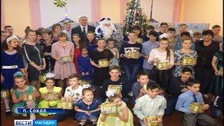 Мечты детей из интерната сбылись с помощью губернатора Сергея Носова