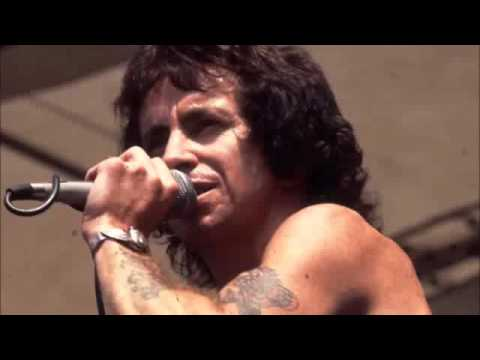 AC DC's Bon Scott   You Shook Me All Night Long Live