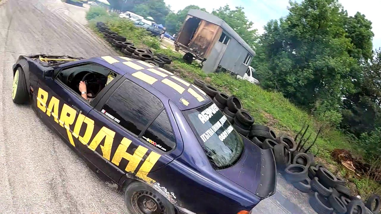 #Drift day Pleven karting track #fpv фотки