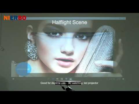 NIERBO High Brightness Projection Screen