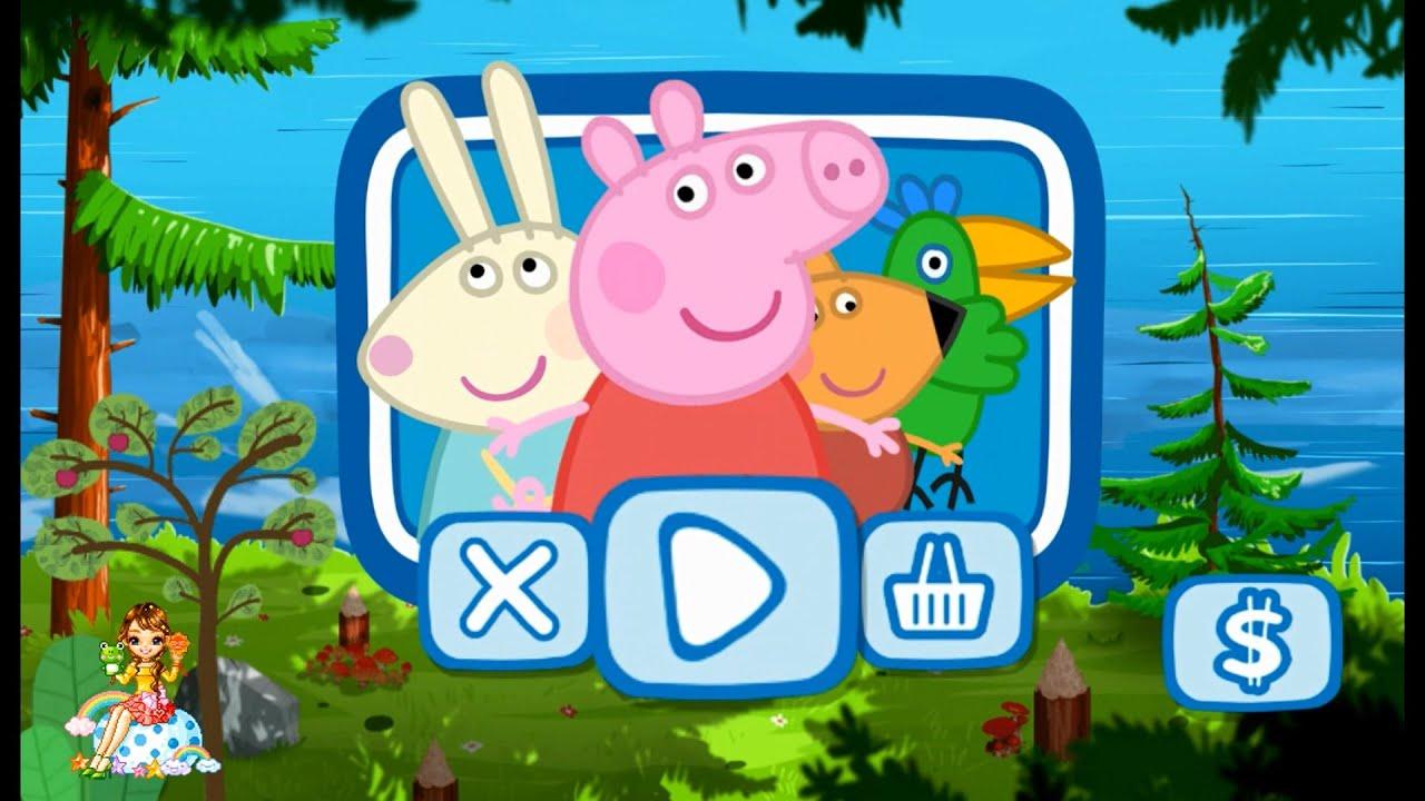 скачать на андроид игры свинка пеппа