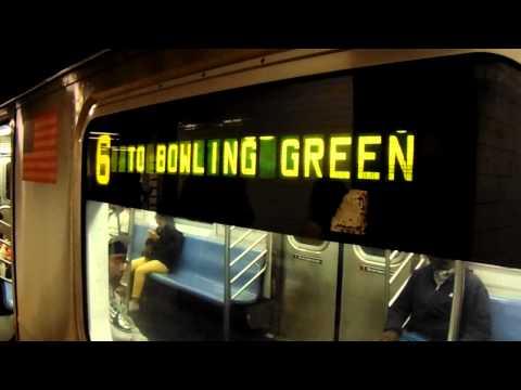 Canal Street (IRT Lexington Avenue Line) Action!