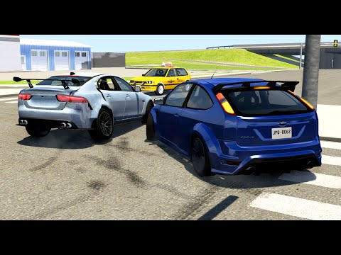 luxury-car-crashes-compilation-#25---beamng-drive