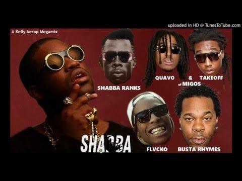 A$AP Ferg - Shabba MEGAMIX (ft. Shabba Ranks, Migos, Busta Rhymes, & A$AP Rocky) + LYRICS