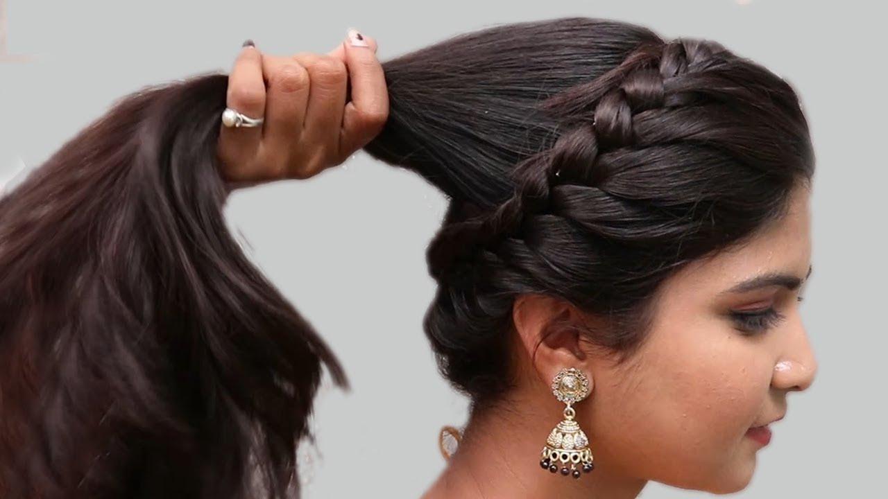 Easy Wedding Hairstyles Puff Hairstyles Hair Style Girl