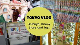 Tokyo VLog: Shibuya, Disney Store And Toys